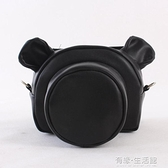 可愛單眼相機包200D 700d 800d d5600 d7500 簡約pu皮單肩斜跨男 有緣生活館