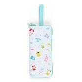 小禮堂 Sanrio大集合 吸水速乾折傘套 (快樂雨天系列) 4550337-75768