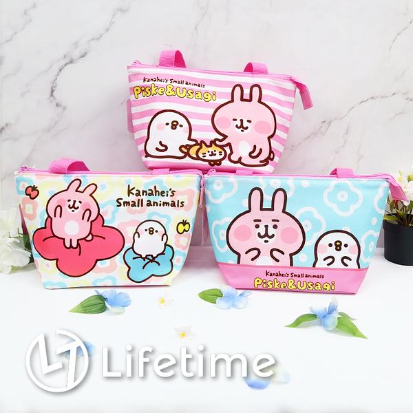 ﹝卡娜赫拉餃型保溫便當袋﹞正版 便當袋 餐袋 手提餐袋 提袋 兔兔 P助〖LifeTime一生流行館〗