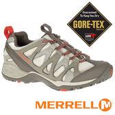 【MERRELL 美國】SIREN HEX Q2 女 GORE-TEX 防水多功能健行鞋『淺棕/米』15890