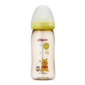 貝親 Pigeon 寬口母乳實感PPSU奶瓶240ml-經典迪士尼(維尼汽球)P78060G〔衛立兒生活館〕