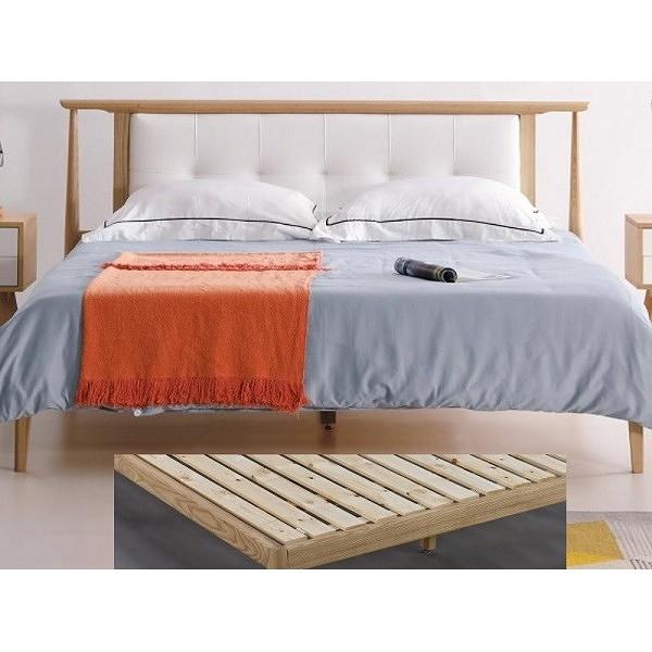 床架 床台 AM-370-2 無印生活5尺實木床檯 (不含床墊) 【大眾家居舘】