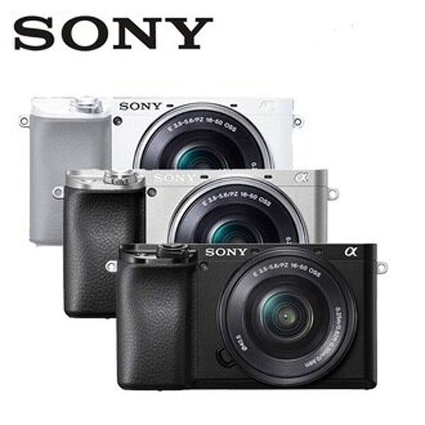 SONY A6100L 單鏡組(公司貨) ILCE-6100L 微單眼 限量送電池+32G高速卡+座充+吹球清潔組+保護貼
