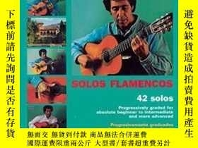 二手書博民逛書店【罕見】Mel Bay Play Solo Flamenco Guitar With Juan Martin Bo