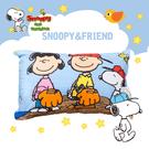 卡通 混紡 兒童小枕 童枕 Snoopy 查理布朗 幼稚園