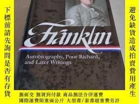 二手書博民逛書店FRANKLIN:Library罕見of America 美國文
