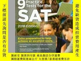 二手書博民逛書店9罕見Practice Tests for the SAT 20