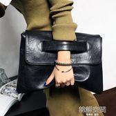 韓版女包新款 女包女士潮包大容量簡約手拿包手抓包信封包潮 韓語空間