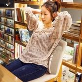 可愛動物汽車腰枕辦公室腰靠椅子靠背墊靠枕孕婦上班護腰墊可拆洗 創時代3c館 YJT