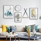 壁畫客廳裝飾畫現代簡約沙發背景墻掛畫墻畫餐廳畫