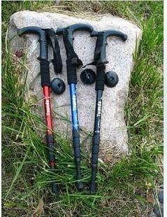 登山杖,三節直柄