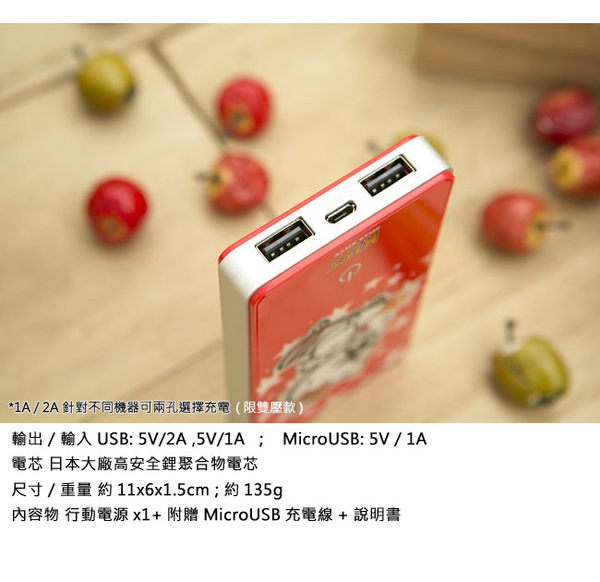 充電器 行動電源 日本HELLO KITTY 5000mAh行動電源 KITTY總動員 里和家居 Riho 雙壓