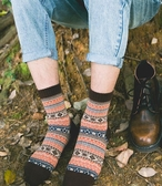 民族風襪子中筒襪