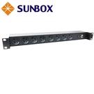 8孔20安培 防脫插座 機架型排插 (SPU-2012-08R) SUNBOX