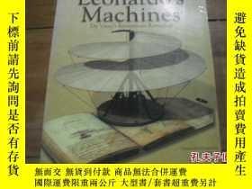 二手書博民逛書店Leonardo`s罕見Machines Da Vinci`s
