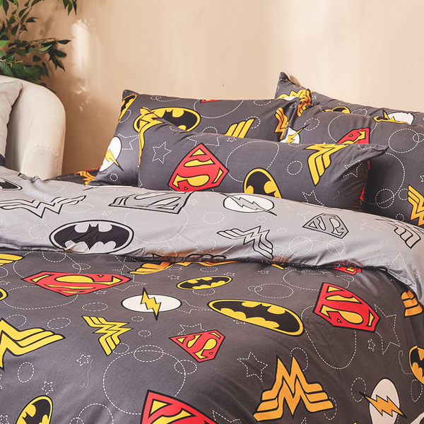 床包 / 單人【DC正義聯盟】含一件枕套 100%精梳棉 戀家小舖台灣製AAS101