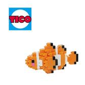 【Tico 微型積木】T-9706 小丑魚