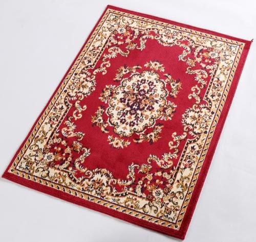范登伯格 紅寶石輕柔絲質感地毯-踏墊-門墊-花園-50x70cm