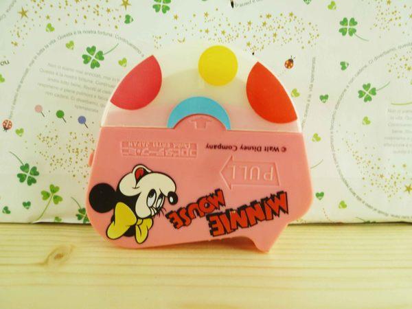 【震撼精品百貨】Micky Mouse_米奇/米妮 ~雙面膠-粉米妮