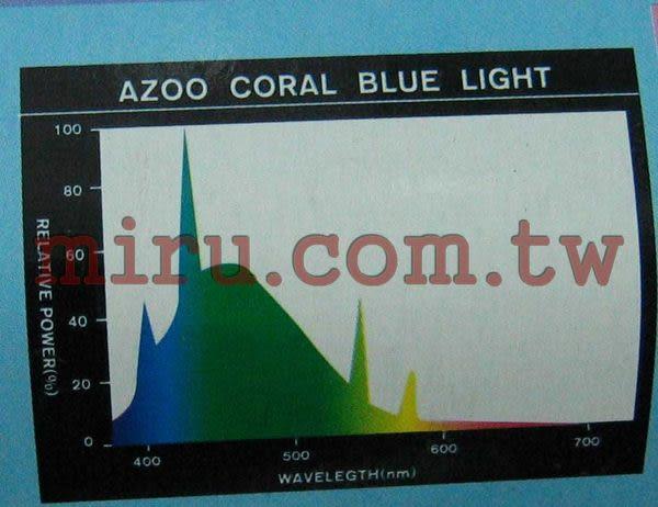 【西高地水族坊】AZOO T8珊瑚,水草藍燈管(20W)
