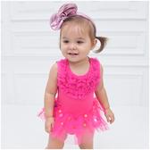 無袖包屁裙 禮服 蓬蓬紗 女寶寶 包屁衣 爬服 哈衣 Augelute Baby 32156