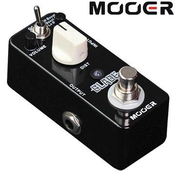 ★集樂城樂器★Mooer Blade 重金屬破音效果器 (MT2)【Metal Distortion Pedal】MREG-BL