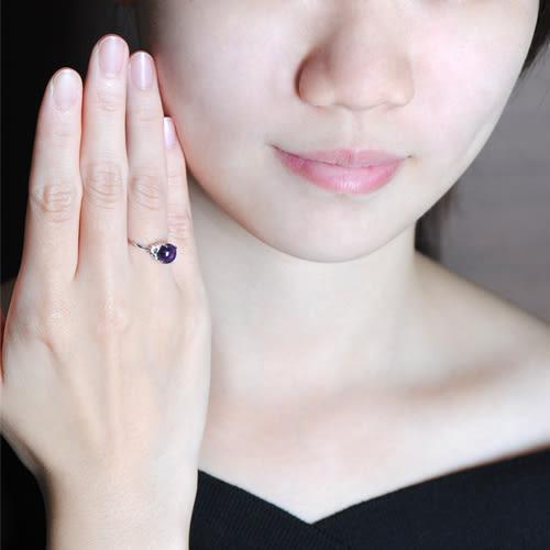 蘇菲亞SOPHIA - 玩美寶石系列 花型紫水晶戒指