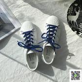 小白鞋 小白鞋女春季2018新款韓版百搭白鞋學生平底港風板鞋休閒秋季女鞋 聖誕慶免運