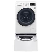 LG 滾筒洗脫烘-10.5KG+下層2KG洗衣機WD-S105DW+WT-D200HW