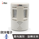 iMAX 雙向語音來客報知器 (CH-SEN01) /賣場/商店/公共場所/紅外線感應/語音/旋轉支架/多種語音