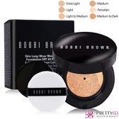 BOBBI BROWN 自然輕透膠囊氣墊粉底-無瑕版SPF50 PA+++(13g)含盒 多色可選【美麗購】