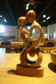 藝術雕刻品-一吻定情 13*6*30 cm