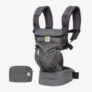 美國 ERGOBABY Omni全階段型四式360嬰兒揹帶/背巾/揹巾(透氣款)經典織紋~總代理公司貨