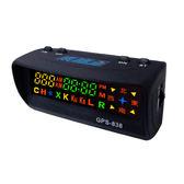 送3孔擴充『 南極星 GPS-838 衛星定位超速警示器 單機版 』GPS 838 測速器/內置天線/九代四核引擎1