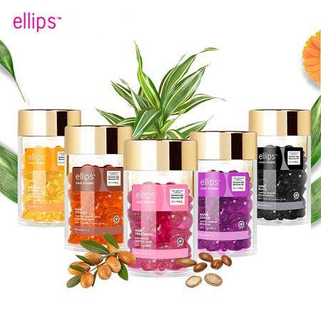 印尼 ELLIPS 膠囊式護髮油 50入(罐裝) 順髮油 護髮油  免沖洗 護髮 順髮油膠囊