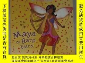 二手書博民逛書店英文原版罕見Maya the Harp Fairy by Dai