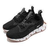 Reebok 慢跑鞋 Zig Dynamica 黑 白 黑白 男鞋 透氣 緩震 運動鞋【ACS】 FX1092