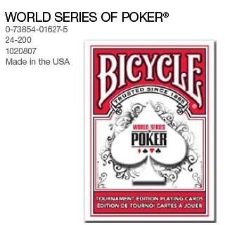 【USPCC撲克館】WSOP Bicycle 世界撲克賽專用牌