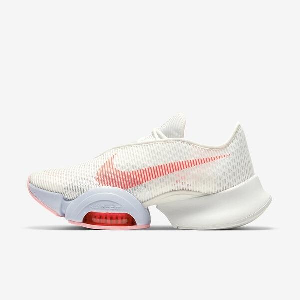 Nike W Air Zoom Superrep 2 [CU5925-100] 女鞋 運動 多功能 訓練 緩震 白 橘