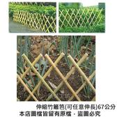 伸縮竹籬笆(可任意伸長)67公分