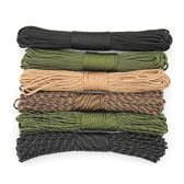 軍規9芯傘繩戶外登山繩傘兵繩荒野求生裝備耐磨尼龍安全繩子31米