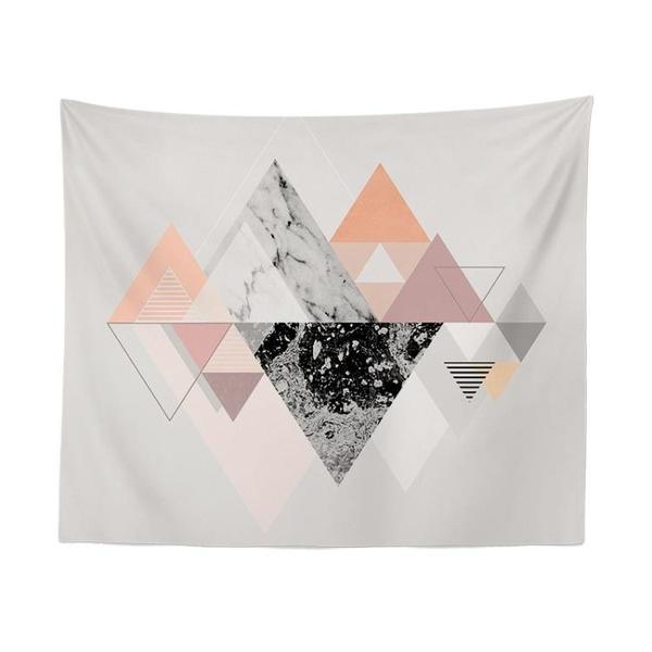 歐美文藝床頭臥室牆壁裝飾掛毯牆布掛布背景布桌布隔斷掛簾ins 小明同學