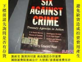 二手書博民逛書店SIX罕見AGAINST CRIME Treasury Agen