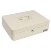 鑰匙現金箱 深30x寬24cm 米白色 大型尺寸 型號KB0010-C