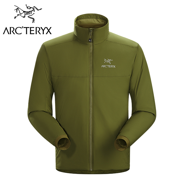 Arc'teryx 始祖鳥 Atom AR Jacket 保暖化纖外套 男款 深苔癬綠 #14649