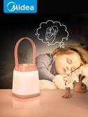 小夜燈 睡眠臥室床頭臺燈 護眼新生兒嬰 插電 喂奶柔光哺乳燈·樂享生活館