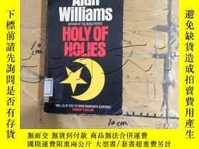 二手書博民逛書店Holy罕見of HoliesY11418 Alan Willi