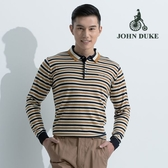 JOHN DUKE 約翰公爵舒適保暖長袖毛衣(卡其)