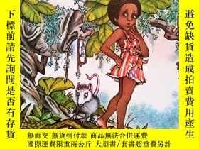 二手書博民逛書店英文原版罕見繪本 圖畫書 Liza Lou and the Yeller Belly Swamp 故事書Y26
