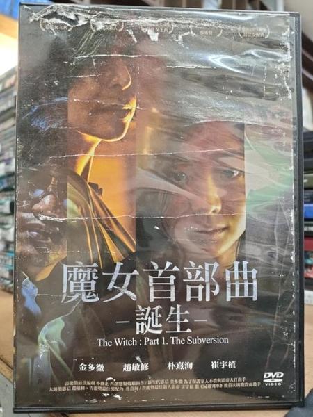 挖寶二手片-T04-362-正版DVD-韓片【魔女首部曲:誕生】金多微 崔宇植(直購價)海報破損